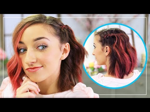 Braid hairstyles - Bailey's DIY Side Frenchback  Short Hairstyle Ideas