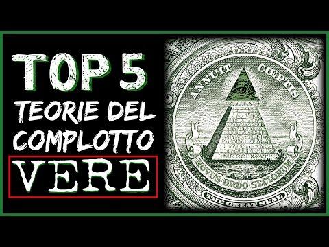 5 teorie del complotto veramente esistenti!