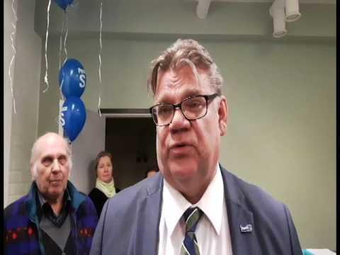 Timo Soini kommentoi puoluejohtajan ehdokkuutta Mikkelissä tekijä: Länsi-Savo