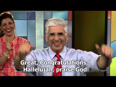 Young Man Receives Christ live on TV