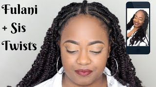 Video Fulani Braids Sis Twists Tutorial MP3, 3GP, MP4, WEBM, AVI, FLV Agustus 2018