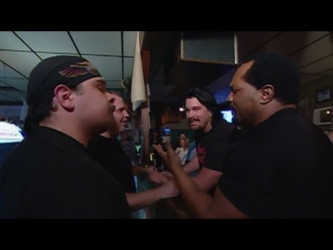 apa - WWE Hall of Fame: The APA get into a bar fight at the Friendly Tap.