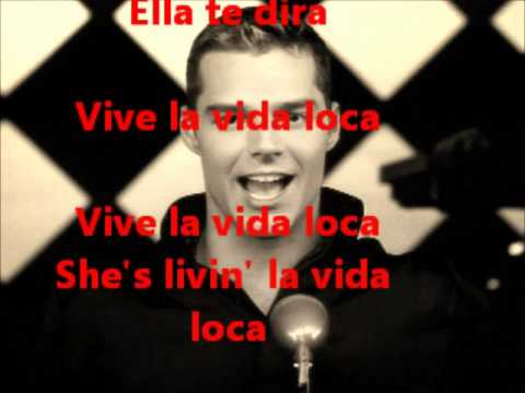 Livin' la vida loca - Ricky Martin (Español versión con lyrics)