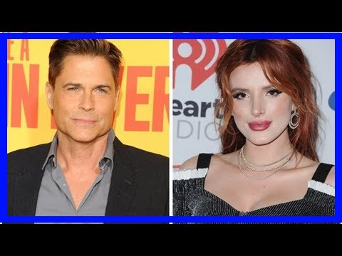 Rob lowe blasts bella thorne for clueless mudslide tweet