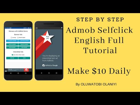 New Admob Self Click Strategy - English Tutorial (100% No Ban)