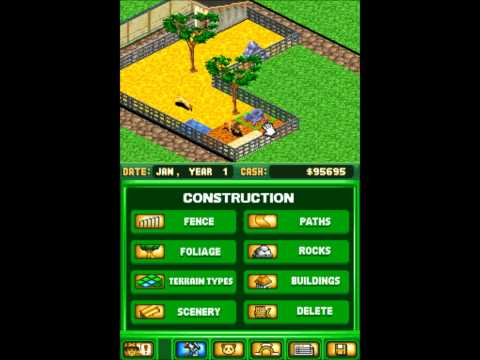 Zoo Tycoon DS Nintendo DS