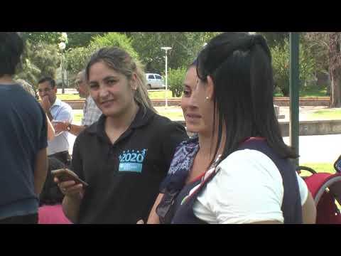 CAIF San Eduardo llevó a cabo una actividad en plaza Flores.