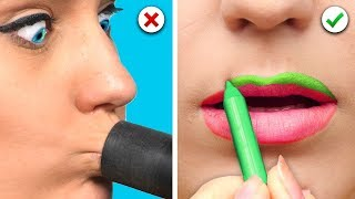 Video BEAUTY HACKS | TIPPS FÜR VOLLE LIPPEN, DIE BESTEN MAKE-UP TIPPS SOLLTET IHR KENNEN MP3, 3GP, MP4, WEBM, AVI, FLV Juli 2019