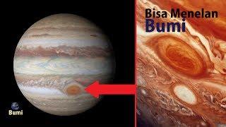 Video Tak Disangka! Bintik Merah Raksasa Pada Planet Jupiter ini Mampu Menghisap Bumi! MP3, 3GP, MP4, WEBM, AVI, FLV Desember 2018
