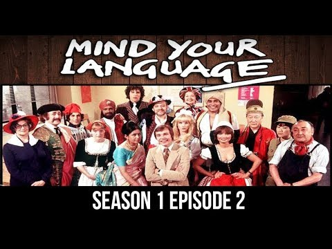 Mind your language Episode 02   An Inspector Calls with english subtitles HD
