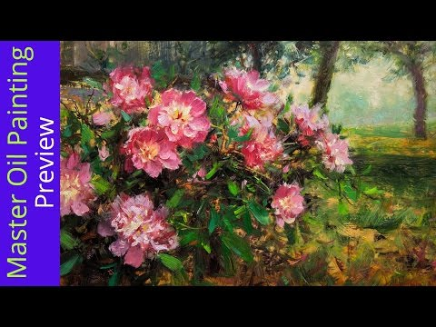 How to Paint Peonies Preview (видео)