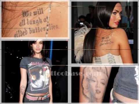 Hottest Celebrity Tattoos