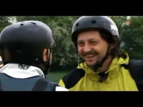 galerie Tandem paragliding se slovenskými herci z Partičky