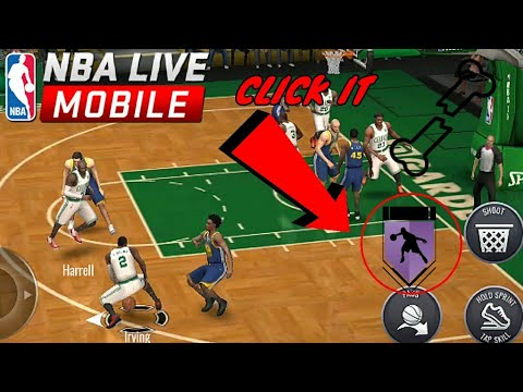 NBA LIVE MOBILE-KYRIE IRVING HIGHLIGHTS!!!ANKLE BREAKER FIRST DAY BACK!!!