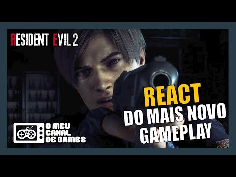 10 MINUTOS INÉDITOS DE GAMEPLAY - RESIDENT EVIL 2 REMAKE [React]