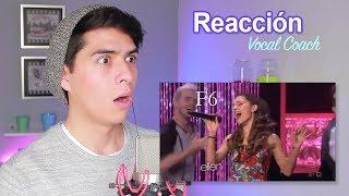 Reacción a la Voz de SILBIDO de ARIANA Grande Vocal Coach Reacciona | Vargott
