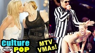 MTV VMAs Best, Worst&Most Shocking - Lady Gaga, Miley, Kanye, Taylor, Madonna, Britney