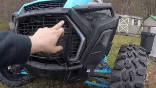 8. A quick look at my 2019 rzr4 turbo