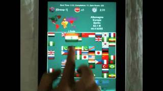 Flag Solitaire + Quiz YouTube video