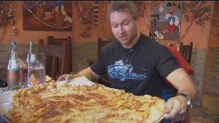 Essing Germany  City pictures : Furious World Tour | Germany - 10lb Pizza, Super Cars, Testicles, 6lb Steak | Furious Pete