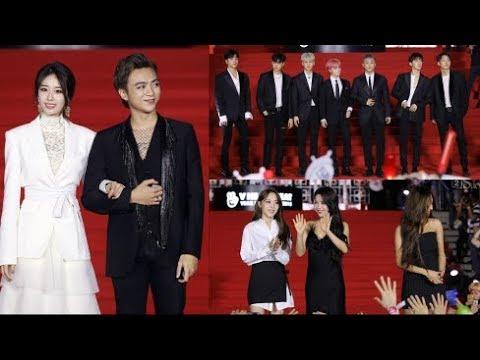Jiyeon sánh đôi Soobin Hoàng Sơn, iKON, Mamamoo gây náo loạn thảm đỏ - Thời lượng: 5 phút, 13 giây.