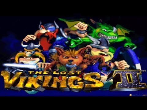 The Lost Vikings 2 gameplay (PC Game, 1997)