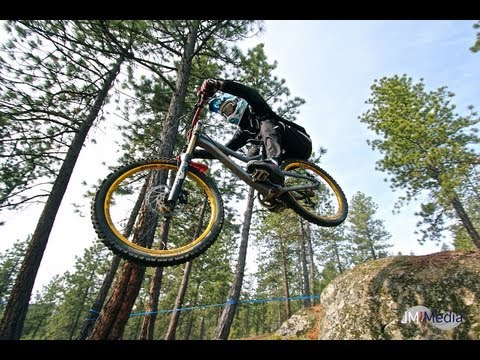 Beacon Hill Spokane, WA Double Down Hoe Down #4 Downhill Mountain Bike Racing
