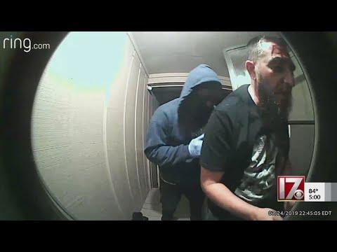 Man robbed at gunpoint, caught on Ring doorbell cam