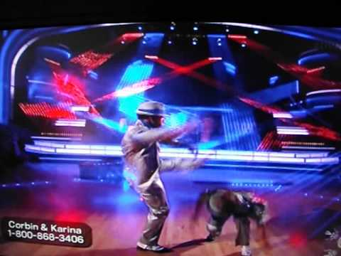 smooth - Corbin Bleu and Karina Smirnoff dance to Michael Jackson's Smooth Criminal for their freestyle dance on the Dancing With The Stars Finals. Awesome.