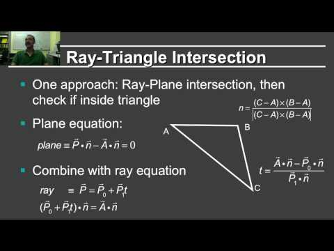 Online Graphics Course RayTracing 2: Ray-Object Intersection