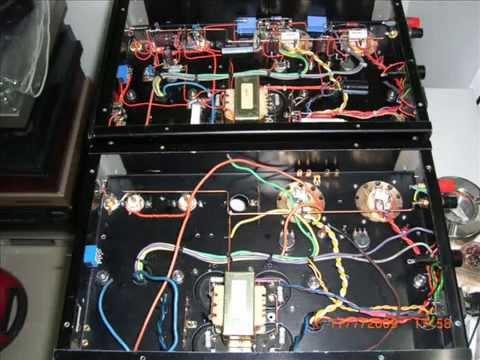 Rebuild KT88 Power Amp.