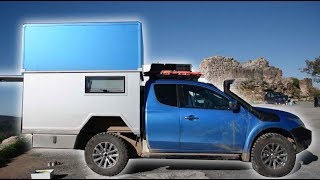 Van Tour: AMAZING Off-Road & Off-Grid TRUCK Conversion! by Nate Murphy