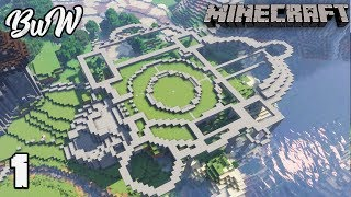 Let's Build a Castle #1 FANTASY CASTLE PLANNING : MINECRAFT 1.13.2 Survival Let's Play 157