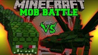 Cephadrome Vs. Naga - Minecraft Mob Battles - Arena Battle - Monster Hunter Mod
