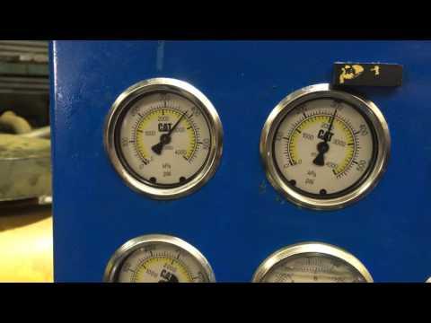 950F-II Transmission Dyno Test