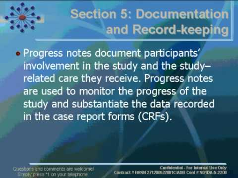 CTN Webinar: Good Clinical Practice Overview