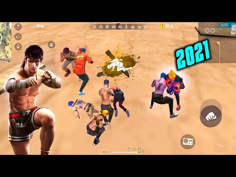 FREE FIRE FACTORY ROOF FIST FIGHT FF KING OF FACTORY CLASH SQUAD FUNNY GAMEPLAY - GARENA FREE FIRE