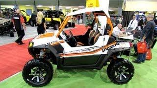2. 2013 Polaris RZR 800S Sport Side by Side ATV - 2012 Salon National du Quad - Laval, Quebec