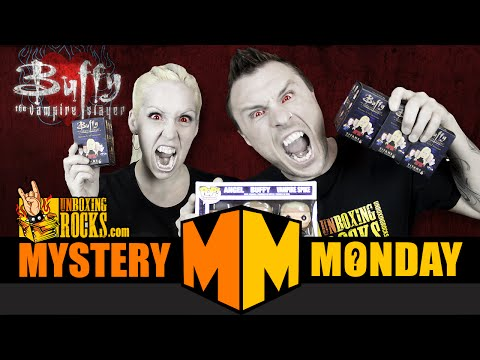 Mystery Monday Episode 16: Buffy Titans Vinyl Figures + Exclusive Funko POP Giveaway!