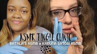 ASMR BINAURAL TINGLE CLINIC | Karuna Satori ASMR x Batala's ASMR