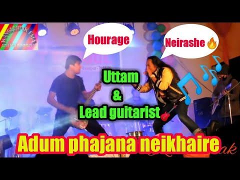 Uttam With Kanglei Band Lead Guitarist  || Summaina Neiba Amukphou Udri/likligi Laini /heavy Metal