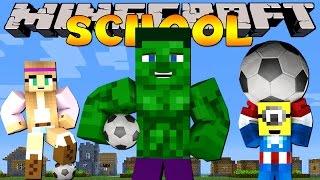 Minecraft School : FIRST EVER SPORTS DAY