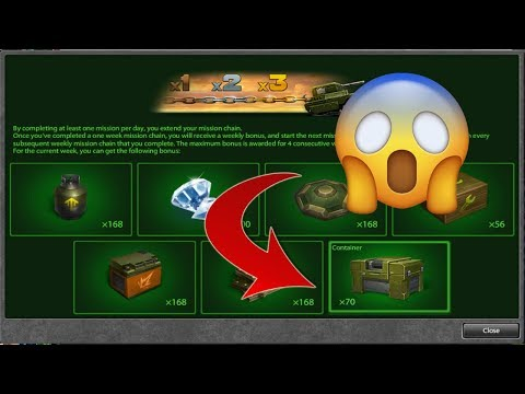 Tanki Online - Containers In Missions! + (NEW UPDATE)