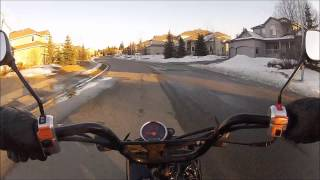 8. Honda Ruckus Ride - 49cc Scooter Ride - Anchorage Alaska - March 31st 2014 - Gopro Camera