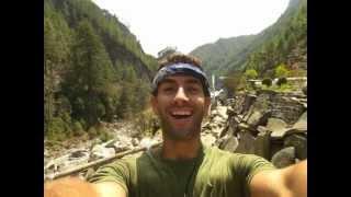 Andreas Nepal Everest Base Camp Trek Time Lapse
