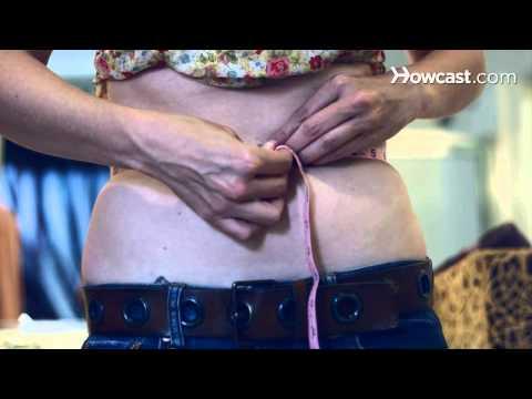 how to measure women's waist