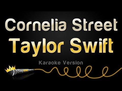 Taylor Swift - Cornelia Street (Karaoke Version)