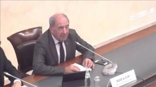 Онлайн-конференция «Час с министром» с участием Михаила Меня и Сергея Степашина