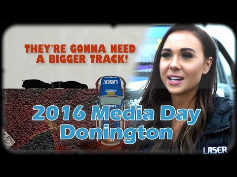 Donington BTCC Media Day! Laser News 2016