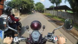 4. First Impression Vespa LXV 150ev Motovlog #2